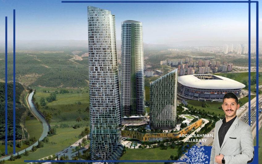 Sarıyer Maslak Skyland Sitesi Kiralık 92 m2 Ofis