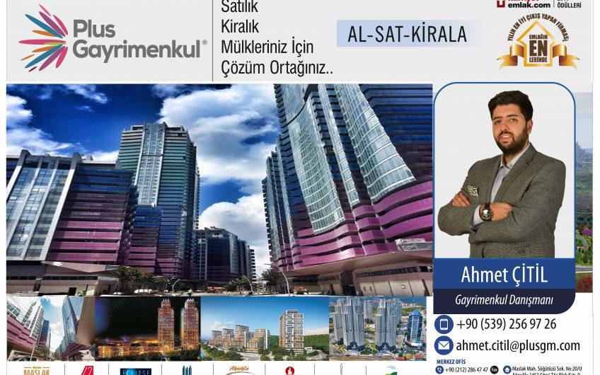Maslak Ağaoğlu 1453 Köprü Manzara 3+1 Loft Satılık Daire