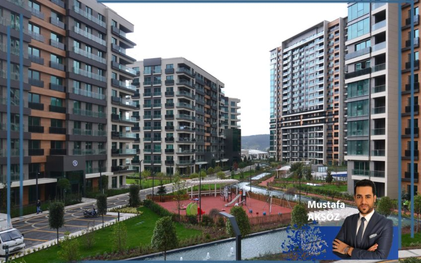 Vadistanbul Park 3. Etap 1+1 Kiralık Residence