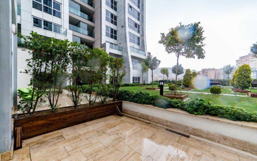 Maslak Ağaoğlu My Home Kiralık 3+1 Bahçe Katı Daire