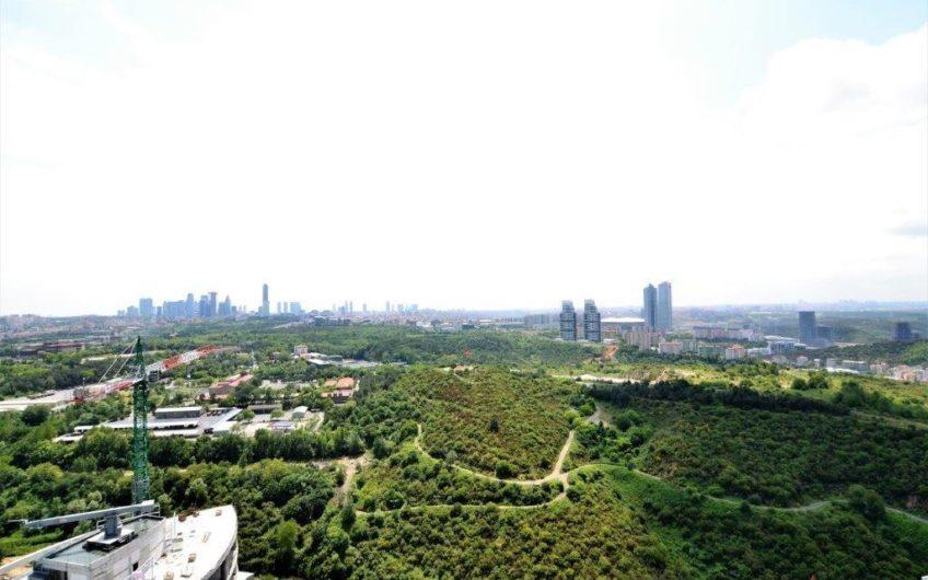 Sarıyer Maslak 1453 Sitesi Satılık 1+1 Orman Manzaralı Daire