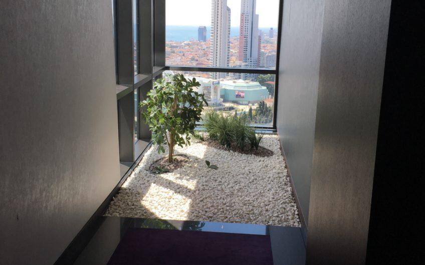 Tramp Towers Residence de Satılık 2+1 Boğaz Manzaralı Daire