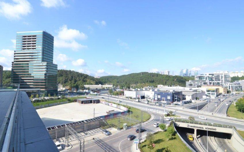 İstanbul Maslak Vadistanbul Plaza da Kiralık Bölümlenebilir Ofis Katı 3167m2