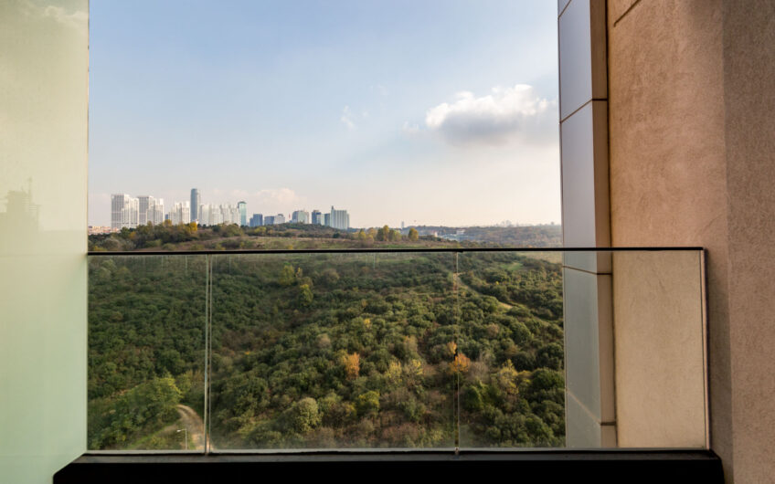 1+1 FOR SALE FLAT IN MYHOME SITE WITH FOREST AND CITY VIEW