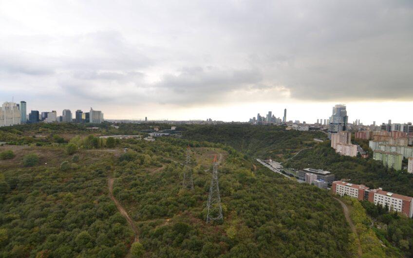Maslak Myhome Sitesinde Orman Manzaralı Satılık 3+1 Daire