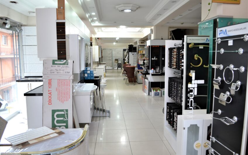Gaziosmanpaşa Küçükköy Vatandaşlığa Uygun 2 Katlı Satılık Dükkan