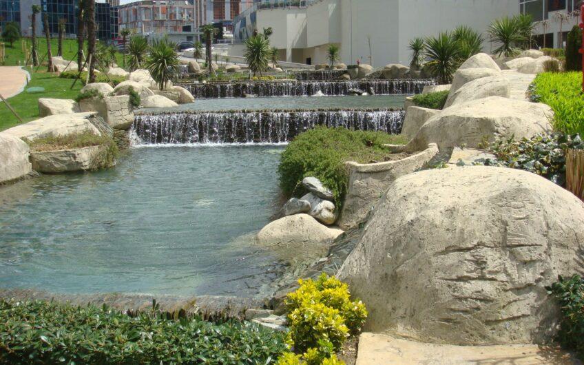 Mashattan Sitesi Kiralık Eşyalı 1+1 Havuz ve Peyzaj Manzara