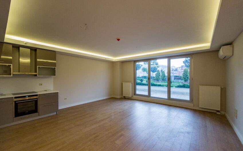 Maslak My home 2+1 Garden Floor Apartment For Sale